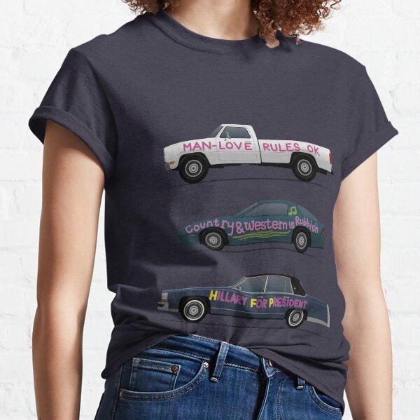US Road Trip Cars Classic T-Shirt