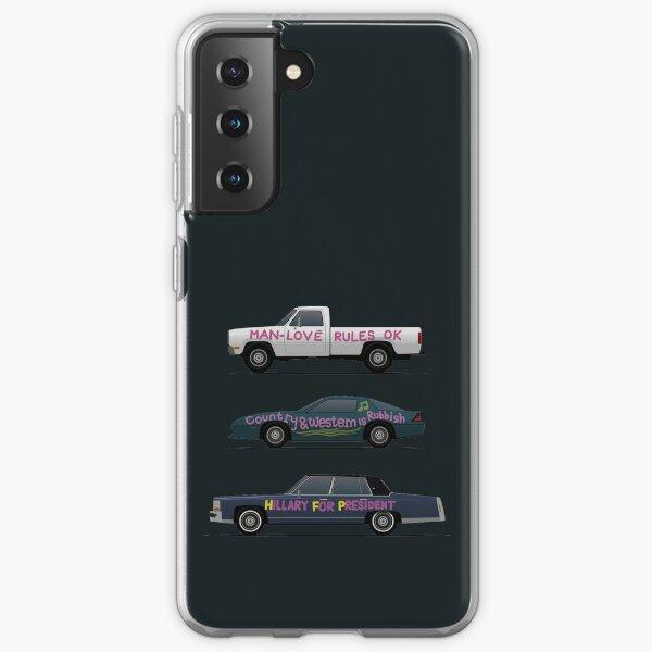 US Road Trip Autos Samsung Galaxy Flexible Hülle