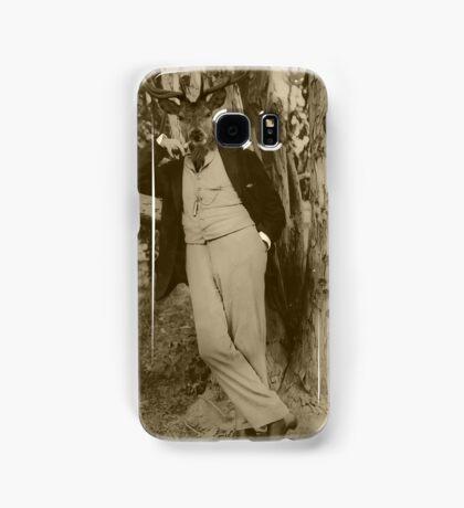 Justin Smokes a Pipe Samsung Galaxy Case/Skin