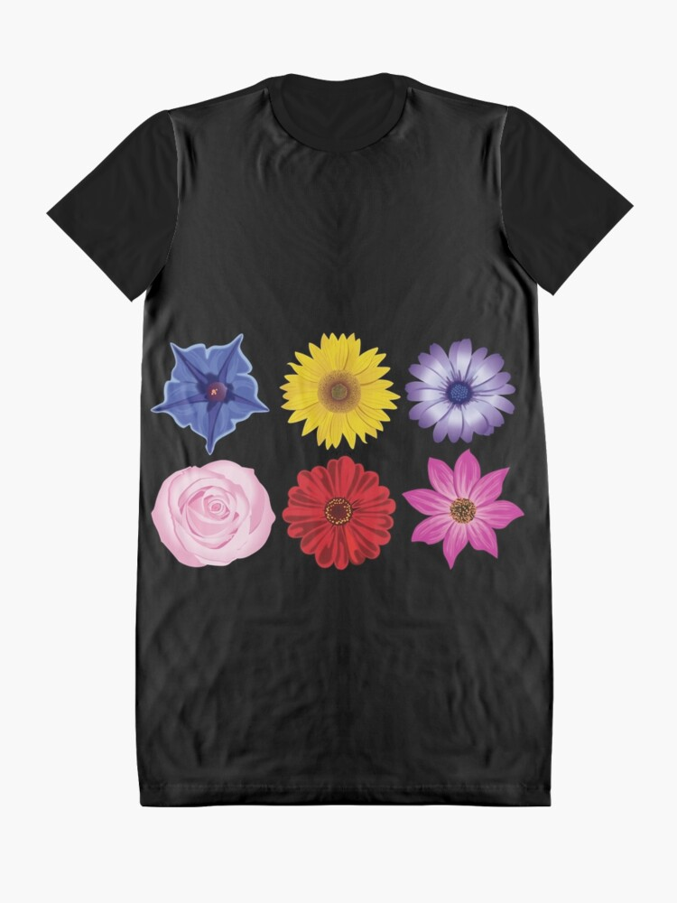 Alternate view of Perfect Flowers Graphic T-Shirt Dress