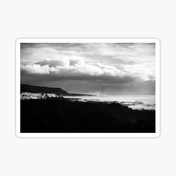 """Heavenly Coast and the Misty Sea"" Sticker"