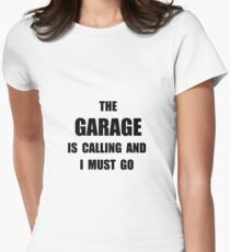 Garage Calling Women's Fitted T-Shirt