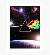 Pink Floyd Dark Side Art Print