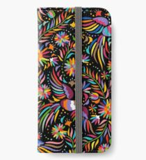 Mexican black pattern iPhone Wallet/Case/Skin