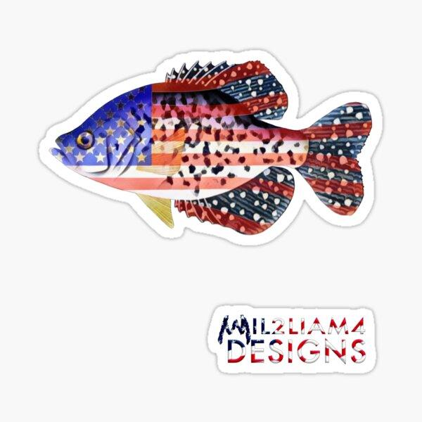 American Crappie Sticker