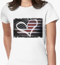 Love USA Women's Fitted T-Shirt