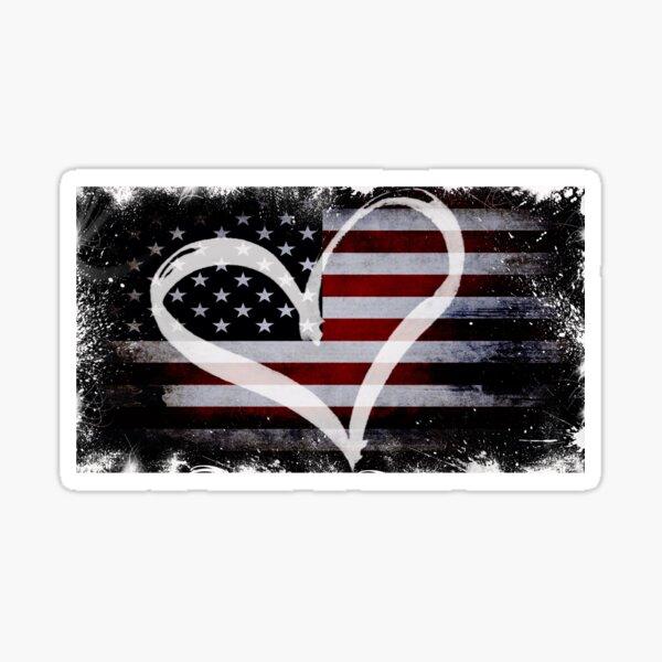 Love USA Sticker
