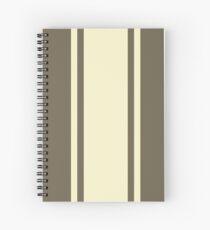 Tom Guitar Pattern Spiral Notebook