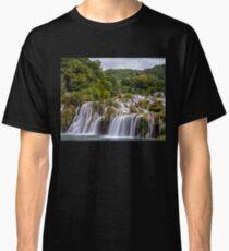 The waterfalls of Krka Classic T-Shirt