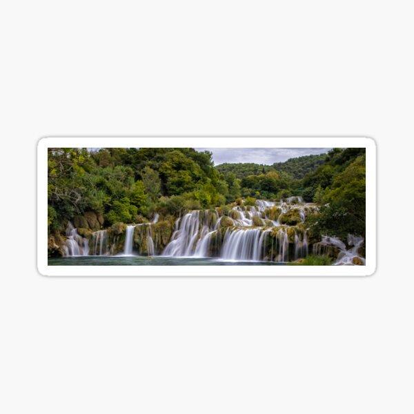 The waterfalls of Krka Sticker