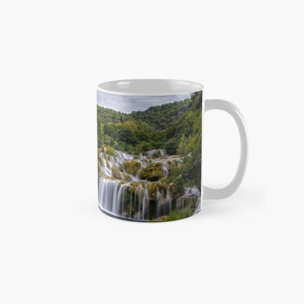 The waterfalls of Krka Classic Mug