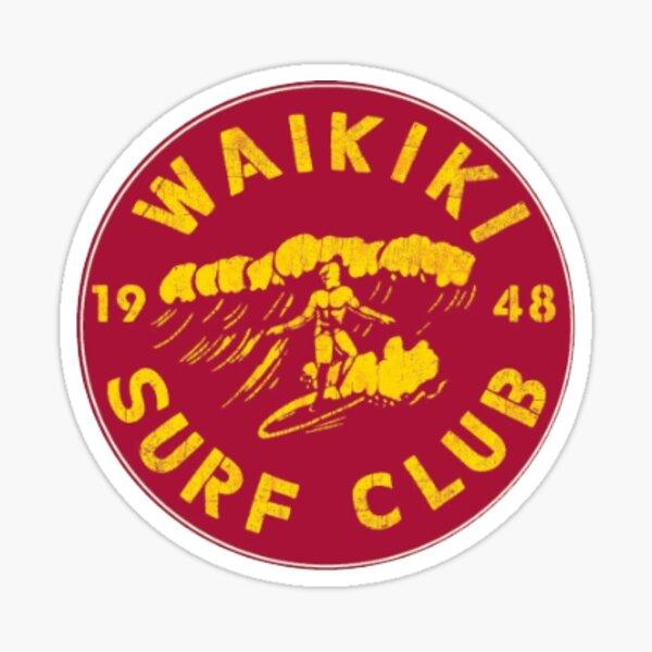 Surf Club  Sticker