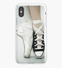 Converse / Pointe Shoe iPhone Case
