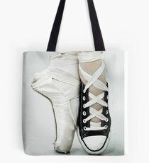 Converse / Pointe Shoe Tote Bag