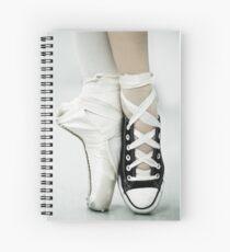 Converse / Pointe Shoe Spiral Notebook