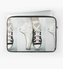 Converse / Pointe Shoe Laptop Sleeve