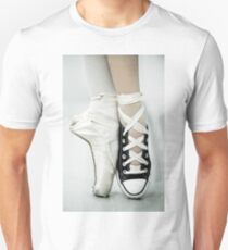 Converse / Pointe Shoe Unisex T-Shirt