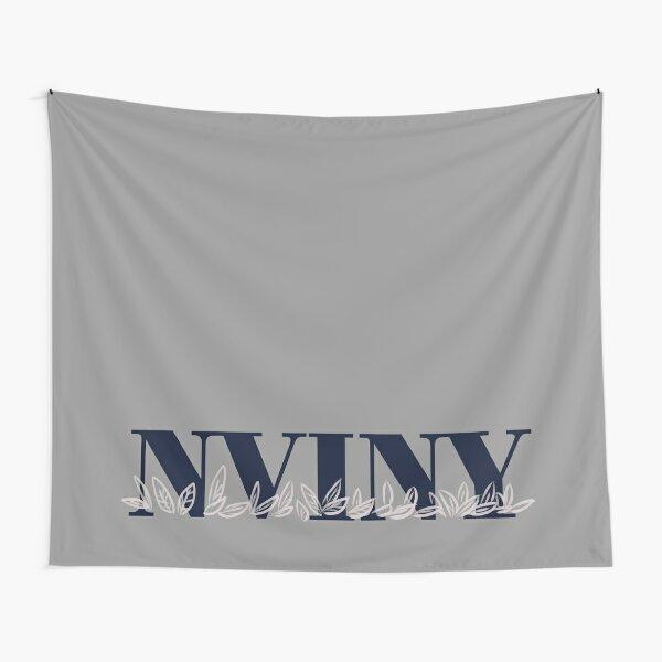 NVINY University Font Logo Tapestry