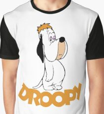 Droopy Cartoon Graphic T-Shirt
