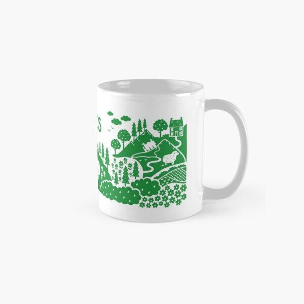 Wales countryside illustration Classic Mug