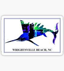 Electric Sailfish       (WRIGHTSVILLE BEACH, NC) Sticker