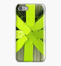 Steel Green Girders iPhone Case/Skin