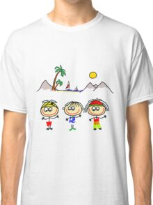 Funny People Boys and Girls Classic T-Shirt