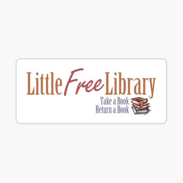 Little Free Library Sticker