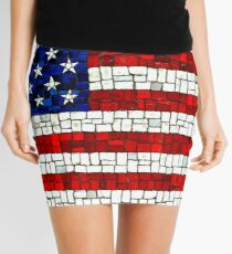 Flag Mini Skirt