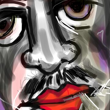 Smoking Man by zeech