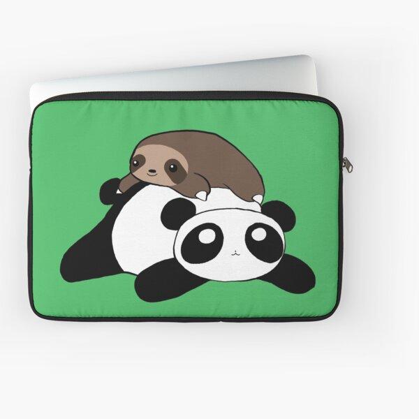 Little Sloth and Panda Laptop Sleeve