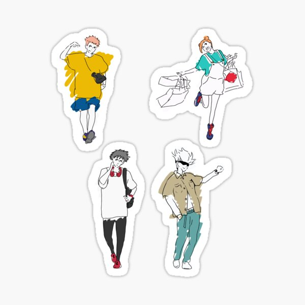 Jujutsu Kaisen (Original) Sticker