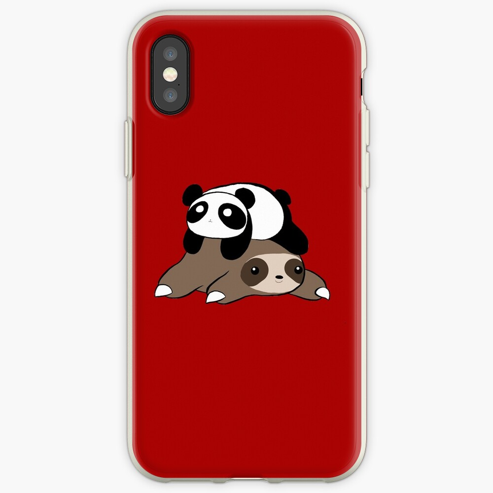 Sloth and Panda iPhone Case & Cover
