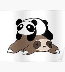 Póster Pereza y Panda