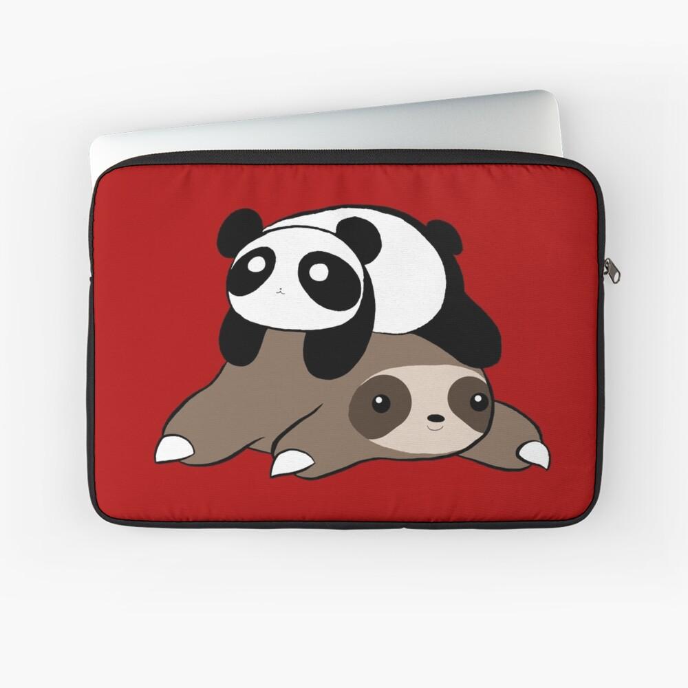Sloth and Panda Laptop Sleeve