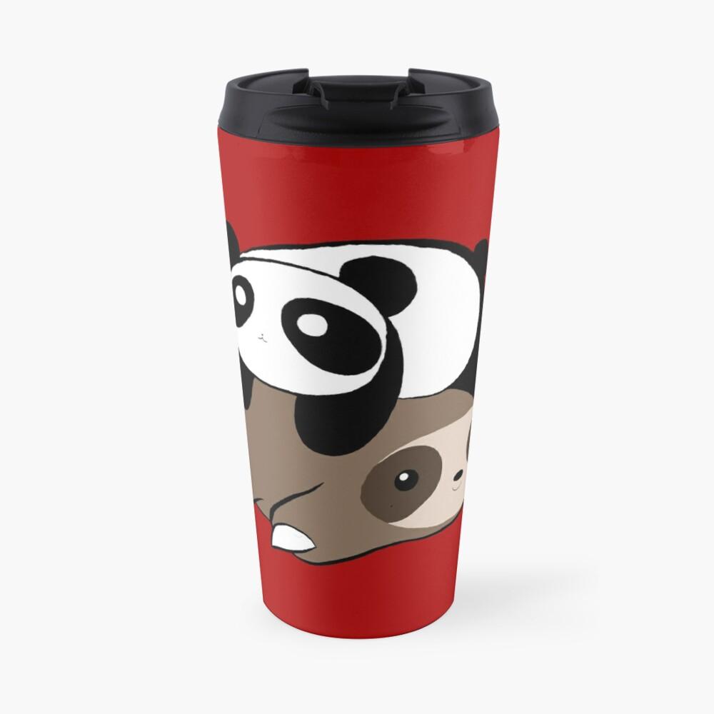 Sloth and Panda Travel Mug