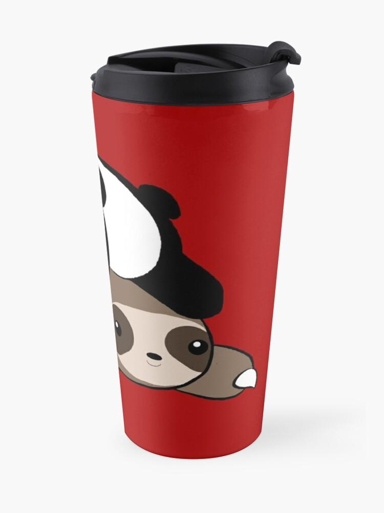 Alternate view of Sloth and Panda Travel Mug