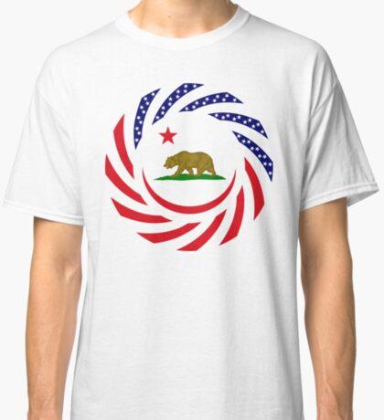 Californian Murican Patriot Flag Series Classic T-Shirt