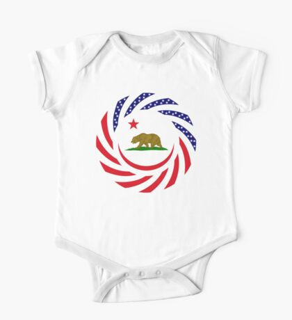 Californian Murican Patriot Flag Series Kids Clothes