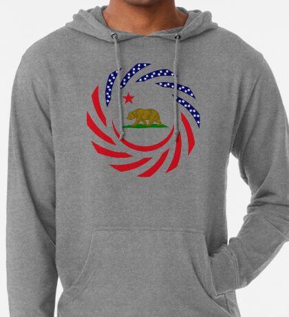 Californian Murican Patriot Flag Series Lightweight Hoodie