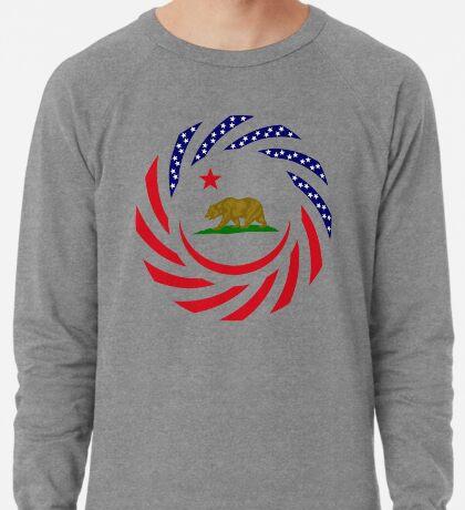 Californian Murican Patriot Flag Series Lightweight Sweatshirt