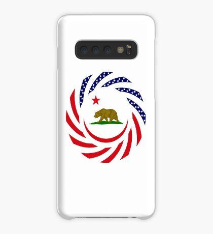 Californian Murican Patriot Flag Series Case/Skin for Samsung Galaxy
