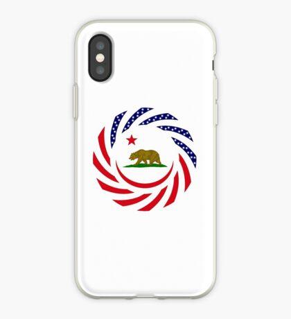 Californian Murican Patriot Flag Series iPhone Case