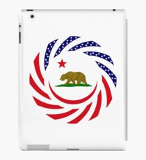 Californian Murican Patriot Flag Series iPad Case/Skin