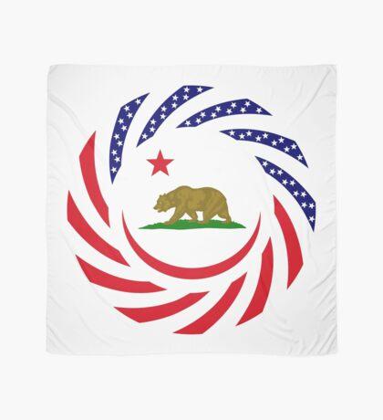 Californian Murican Patriot Flag Series Scarf