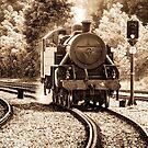 Lms Ncc Class Wt 2-6-4t No 4 Steam Train by Martina Fagan