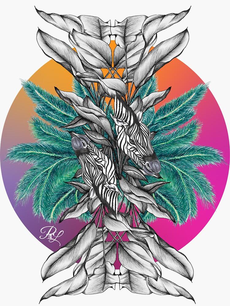 Zebra Palm Tree by PTnL