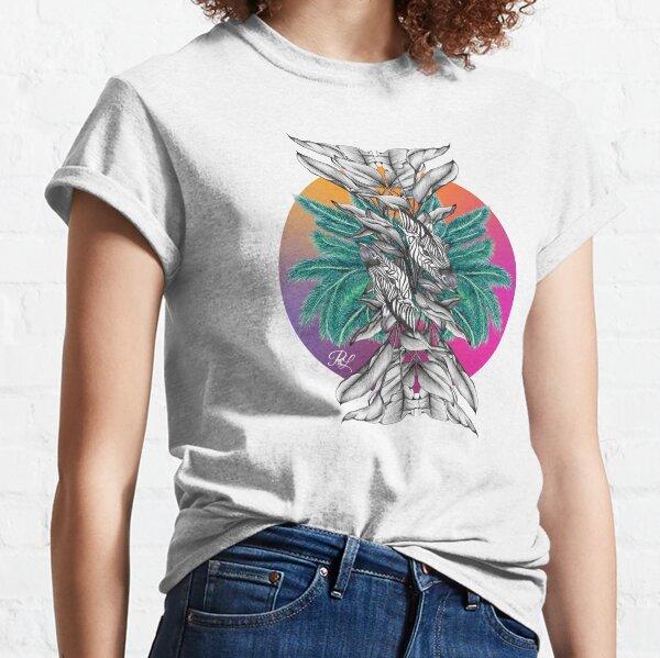 Zebra Palm Tree Classic T-Shirt
