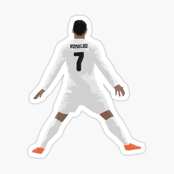 Mini Cristiano Ronaldo 'CR7' - Vecteur Sticker