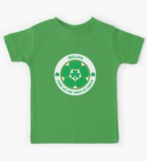 Come On You Boys In Green! Kids Tee